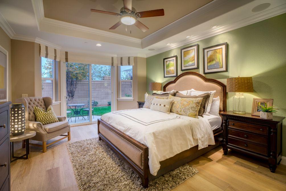 Pikes Model - Master Bedroom